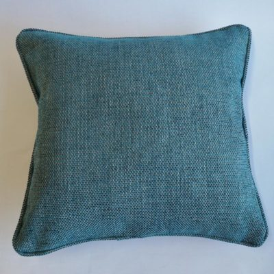Blue Textured Cushion