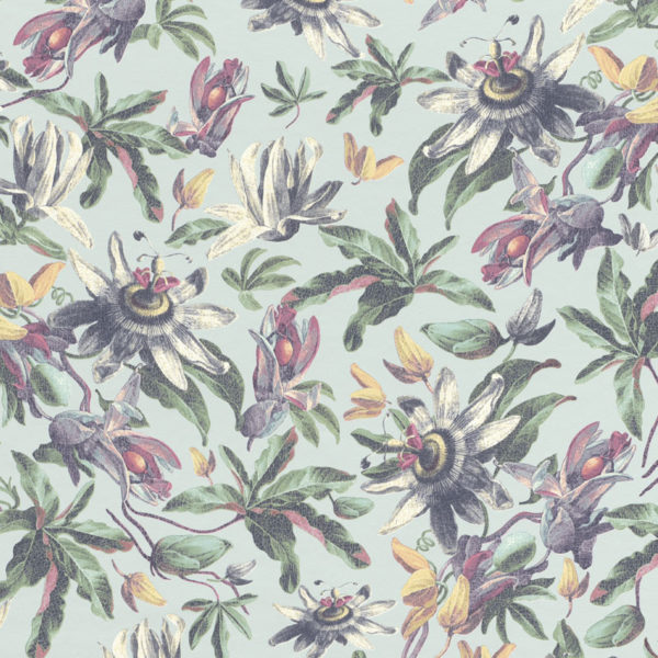 Portobello Passion Flower Wallpaper