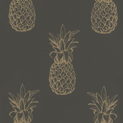 Portobello Pineapple Wallpaper
