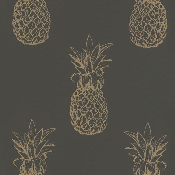 Portobello Pineapple Wallpaper