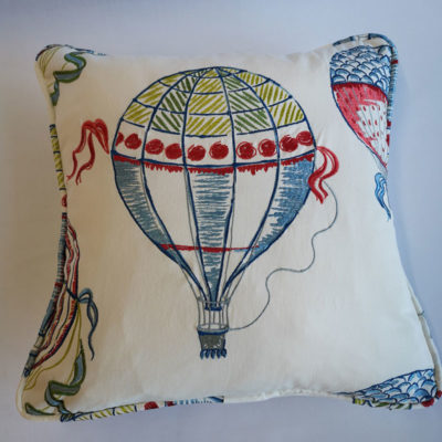 Sanderson Balloon Green Cushion