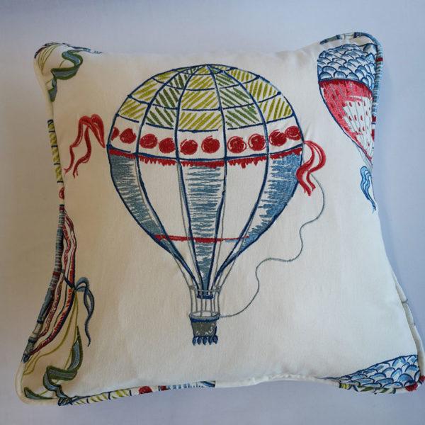 Sanderson Balloon Green Cushion
