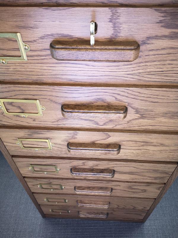Bespoke Oak Cabinet